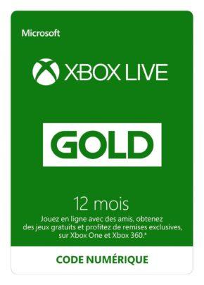 Abonnement Xbox Live Gold 12 mois [Code Digital – Xbox Live]