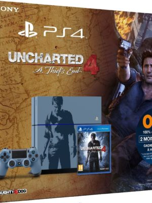 Pack PS4 1 To + Uncharted 4