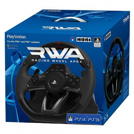 volant racing wheel apex ps4 ps3 pc ps4 achat jeux video maroc. Black Bedroom Furniture Sets. Home Design Ideas
