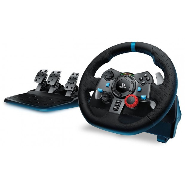 volant g29 driving force ps4 pc achat jeux video maroc. Black Bedroom Furniture Sets. Home Design Ideas