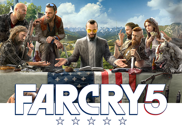 far cry 5 jeu xbox one achat jeux video maroc. Black Bedroom Furniture Sets. Home Design Ideas