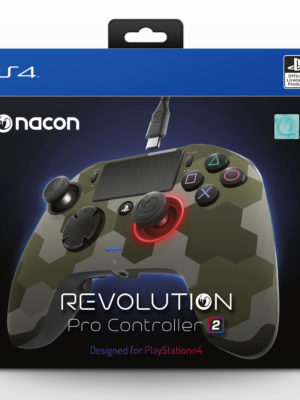 Nacon PS4 Revolution PRO Controller V2, Camo Green