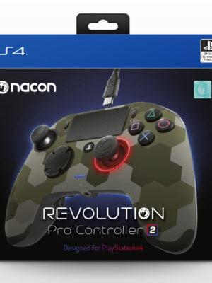 Nacon PS4 Revolution PRO Controller V2, Camo Green