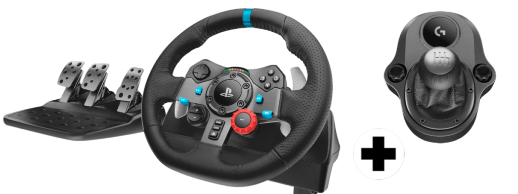 Logitech-G29-Driving-Force-shifter