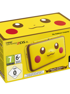 New Nintendo 2DS XL - Pikachu Edition 3