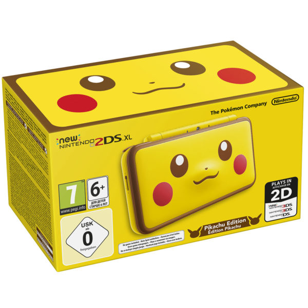 New Nintendo 2DS XL – Pikachu Edition 3