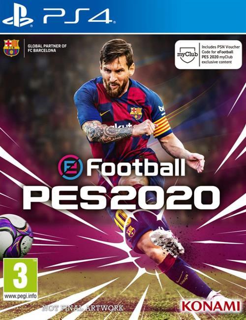 PES20 PS4