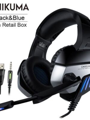 ONIKUMA K5 Meilleur Casque Gamer Casque Gamer Deep Bass