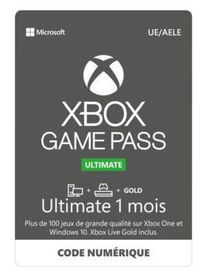 Passez à la version supérieure et faites des économies Tous les avantages de Xbox Live Gold, ainsi que plus de 100 jeux de haute qualité sur console et PC. Les nouveaux jeux ajoutés en permanence offrent toujours une nouveauté à découvrir.Jouer sur Xbox One est encore plus avec intéressant avec Xbox Live GoldEntrez en compétition ou en coopération avec la communauté Xbox sur le réseau multijoueur le plus avancé, où des serveurs dédiés permettent de maximiser les performances, la vitesse et la stabilité Découvrez et téléchargez Découvrez les titres auxquels vous avez toujours voulu jouer ou rejouez aux titres qui vous ont marqué. Téléchargez des jeux directement sur votre console ou votre PC et jouez en ligne ou hors ligne en profitant d'une grande fidélité d'image Réductions sur les jeux Xbox Profitez d'offres exclusives et de remises réservées aux membres allant jusqu'à 20 % sur les jeux de la bibliothèque Xbox Game Pass, et jusqu'à 10 % sur les extensions et consommables connexes. Jouez avec vos amis sur le réseau multijoueur le plus avancé et découvrez votre prochain jeu préféré.