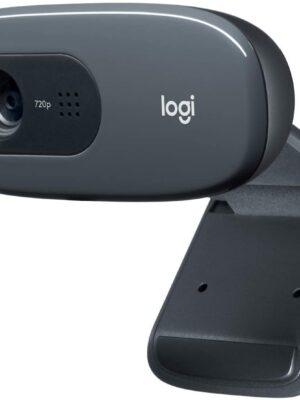 Logitech C270 HD 720p Widescreen Wavescreen Webcam Webcam Ordinateur portable Caméra PC