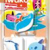 IWAKO 3 Mini gommes Animaux marins