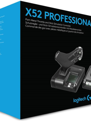 Logitech X52 Professional H.O.T.A.S. Flight Stick