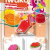 IWAKO 3 Mini gommes Fleurs