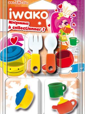 IWAKO 3 Mini gommes Ustensiles de cuisine