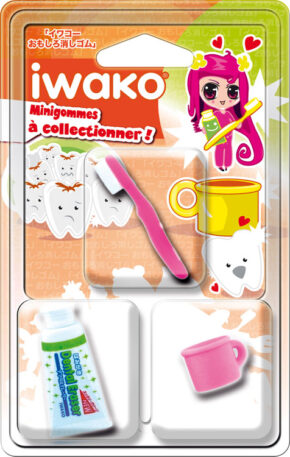 IWAKO 3 Mini gommes Hygiène dentaire