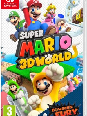 Super Mario 3d World+bowser's Fury SWITCH