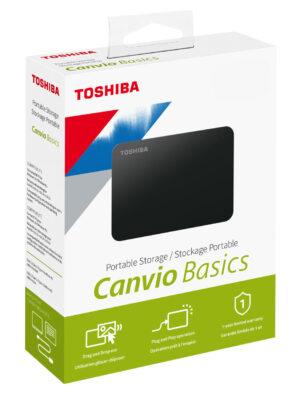 Toshiba Canvio Ready 1TB Portable External Hard Drive 2.5 Inch USB 3.0 - Black