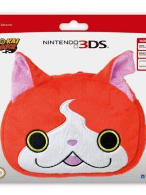 Sacoche Hori Peluche Jibanyan Yo-Kai Watch pour Nintendo 3DS/3DSXL/New 3DS/New 3DSXL