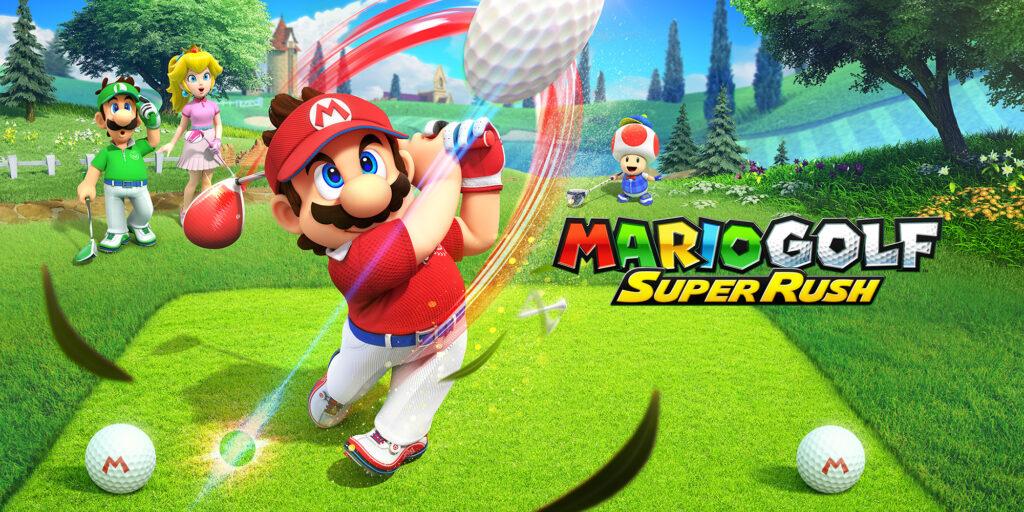 Mario Golf: Super Rush - switvh