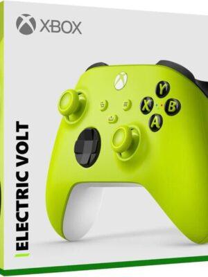 Manette Xbox Jaune Sans Fil - Electric Volt
