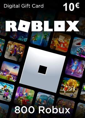 carte cadeaux roblox 800 robux
